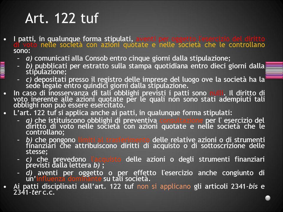 Art. 122 tuf