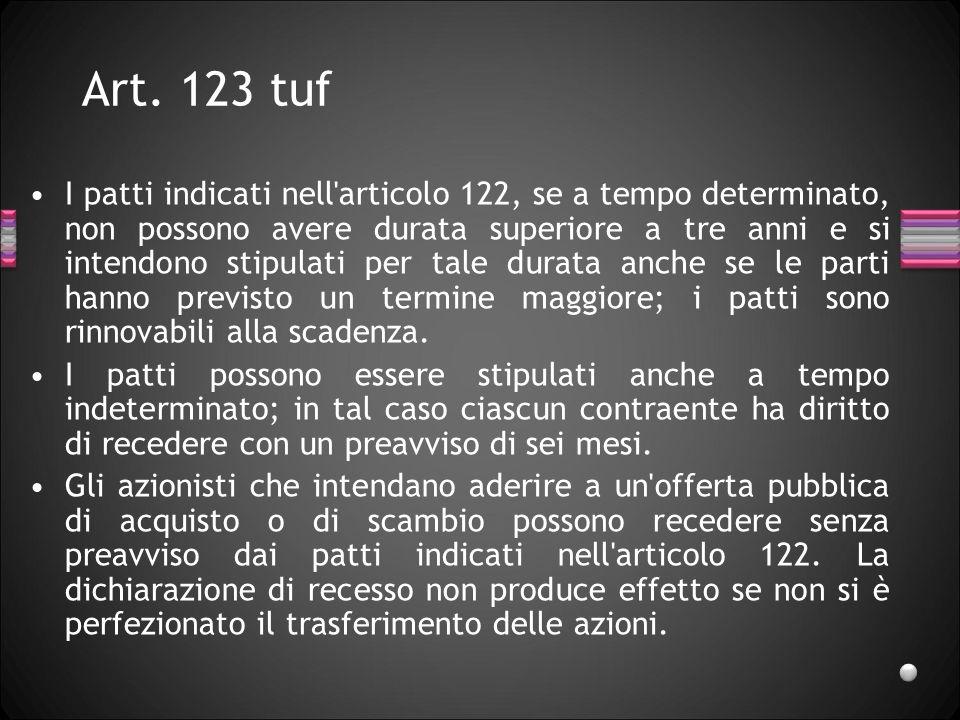 Art. 123 tuf