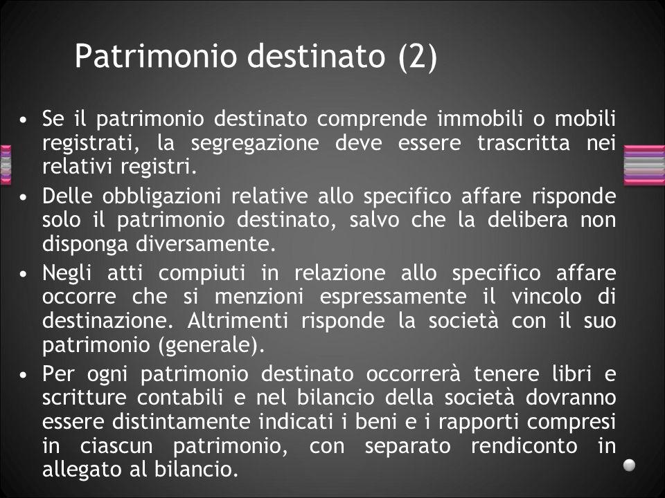 Patrimonio destinato (2)