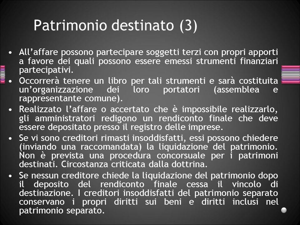 Patrimonio destinato (3)