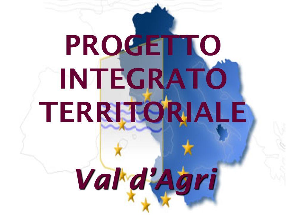 PROGETTO INTEGRATO TERRITORIALE Val d'Agri