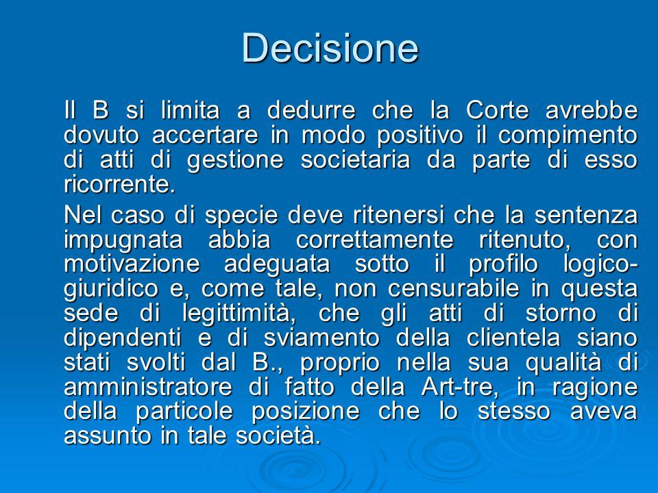 Decisione