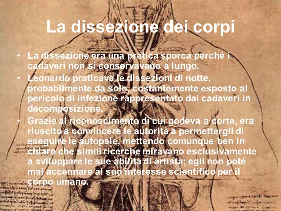 La dissezione dei corpi