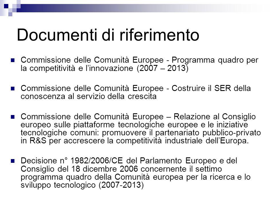 Documenti di riferimento