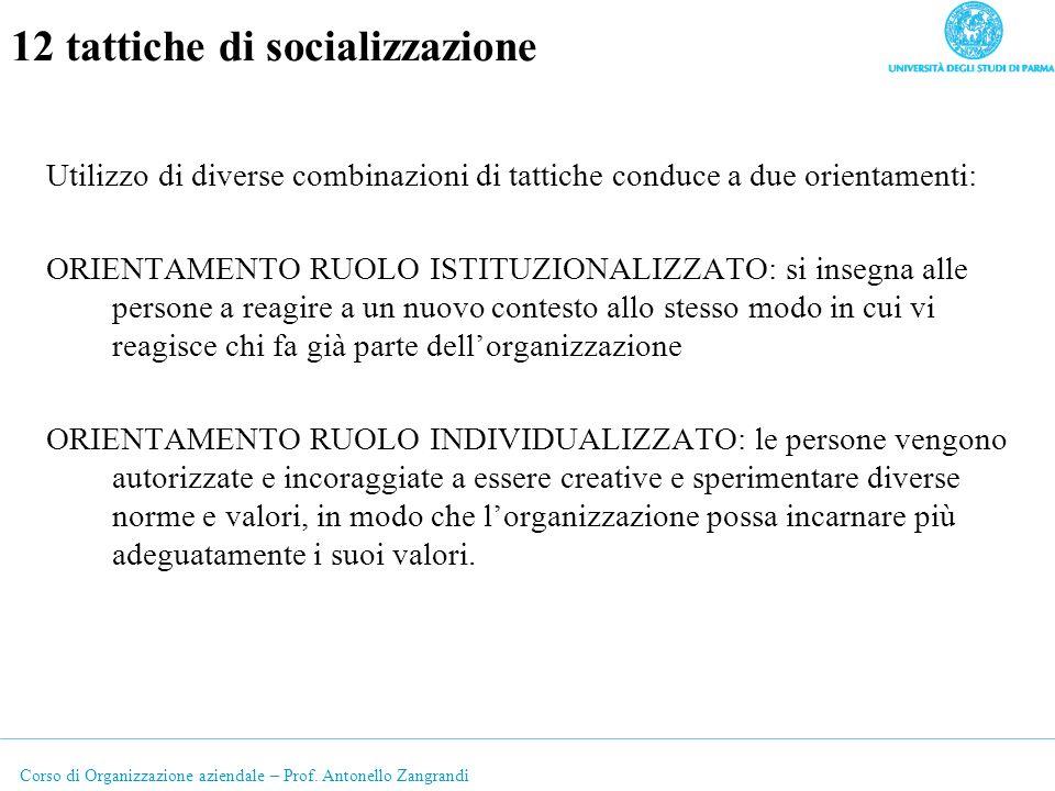 12 tattiche di socializzazione
