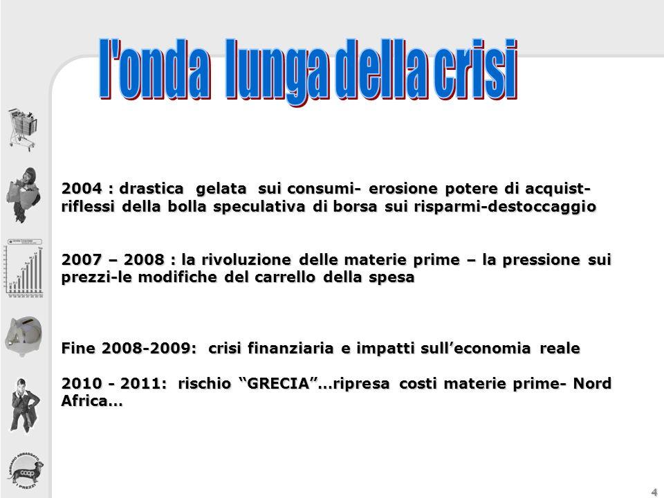 l onda lunga della crisi