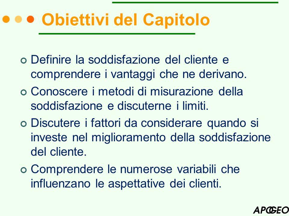 Obiettivi del Capitolo