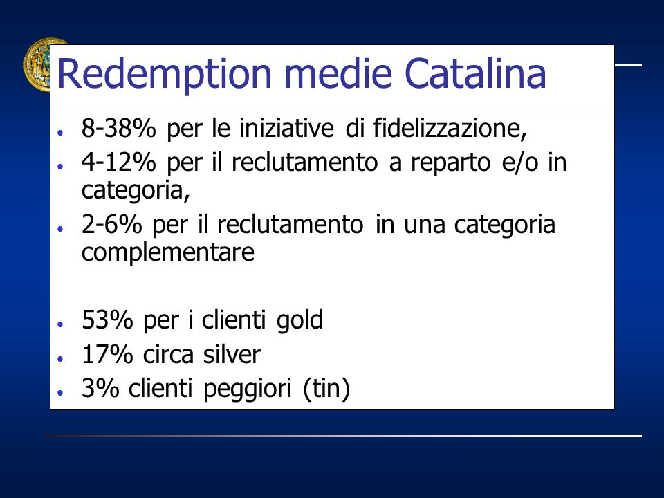 Redemption medie Catalina