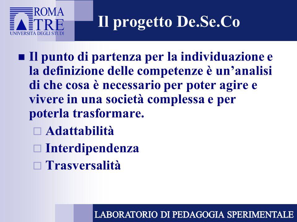 Il progetto De.Se.Co
