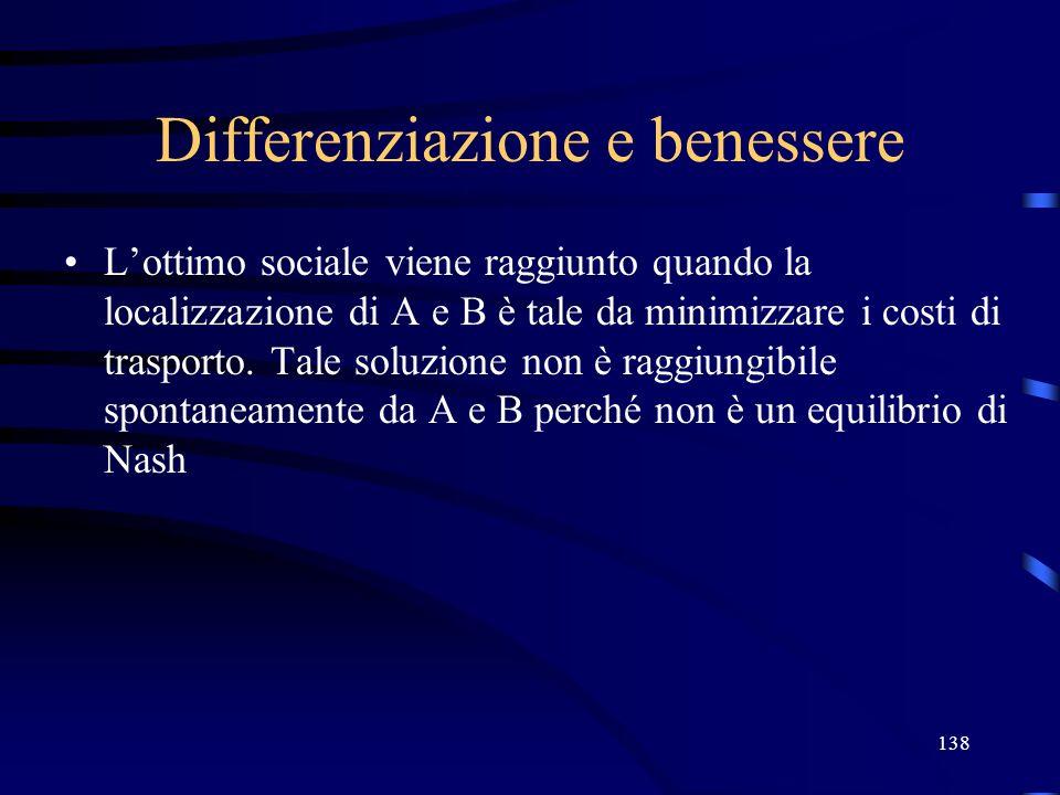 Differenziazione e benessere