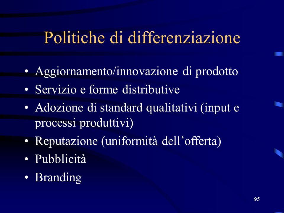 Politiche di differenziazione