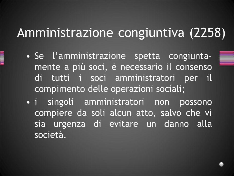 Amministrazione congiuntiva (2258)