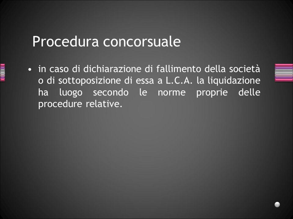 Procedura concorsuale
