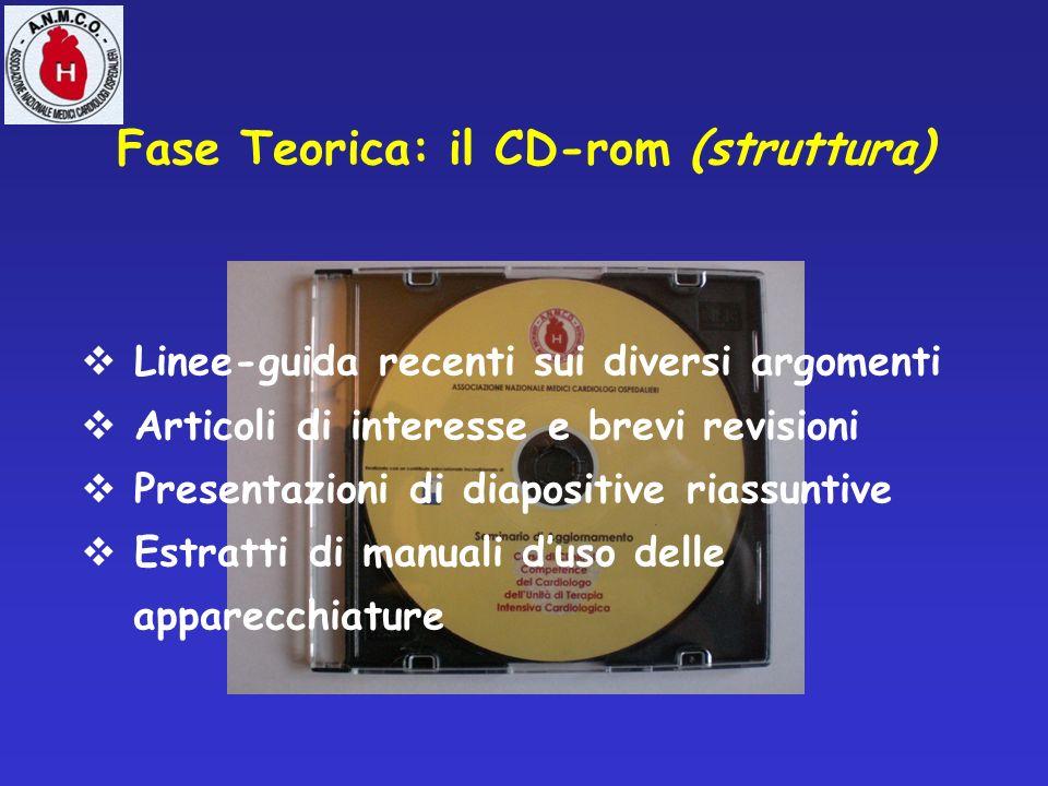 Fase Teorica: il CD-rom (struttura)