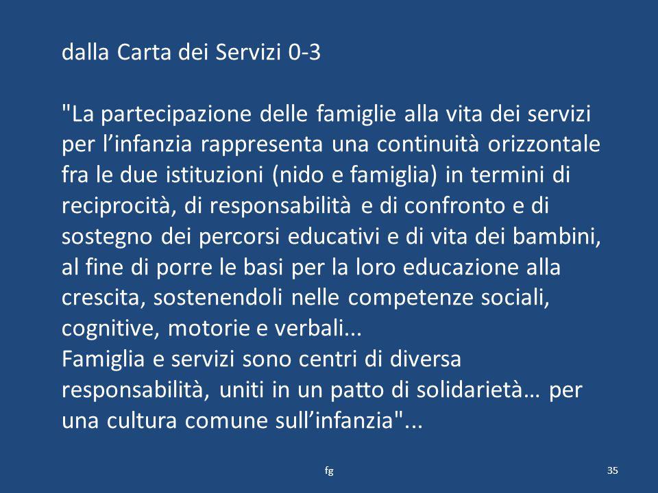 dalla Carta dei Servizi 0-3