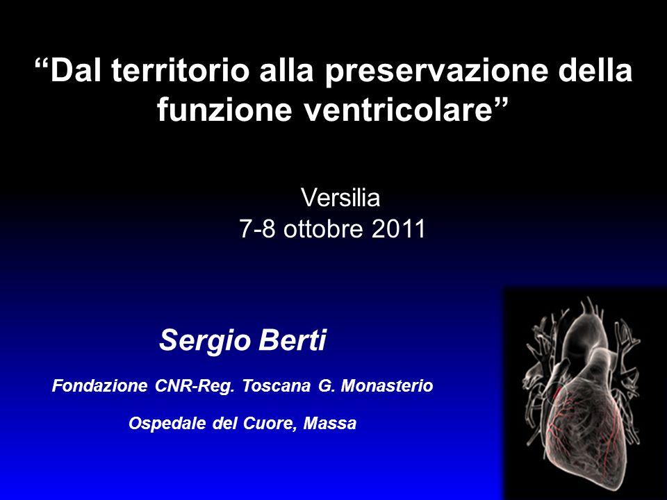 Dal territorio alla preservazione della funzione ventricolare