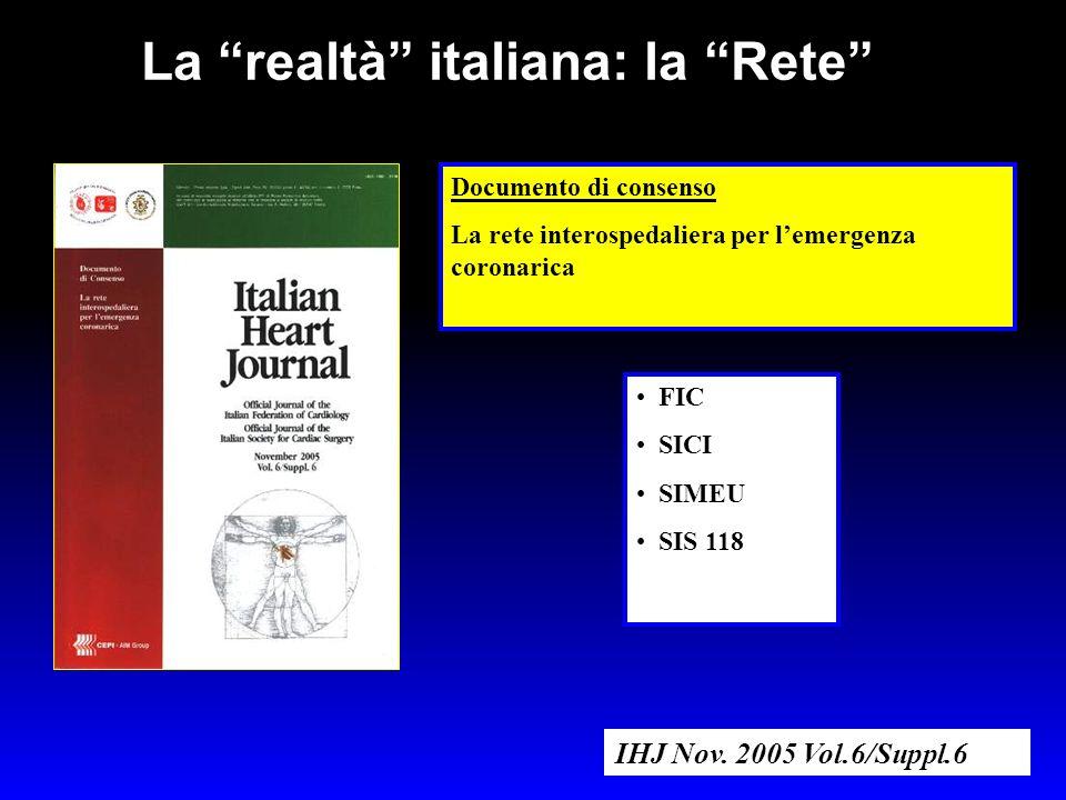 La realtà italiana: la Rete