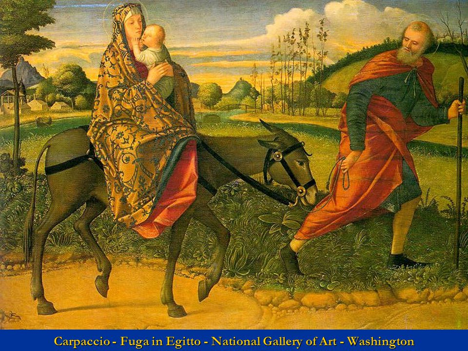 Carpaccio - Fuga in Egitto - National Gallery of Art - Washington