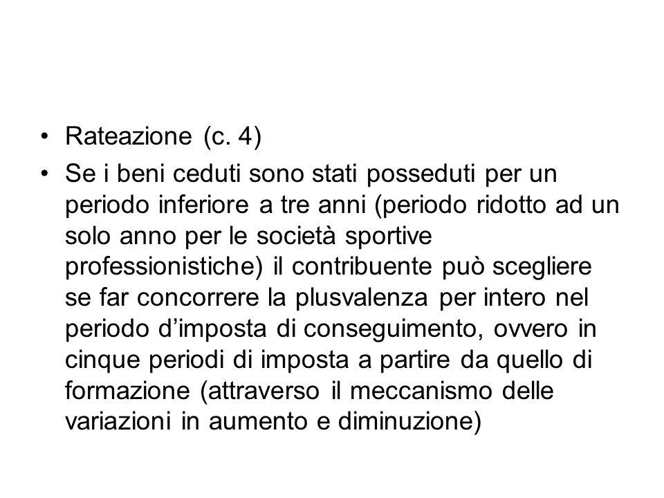 Rateazione (c. 4)