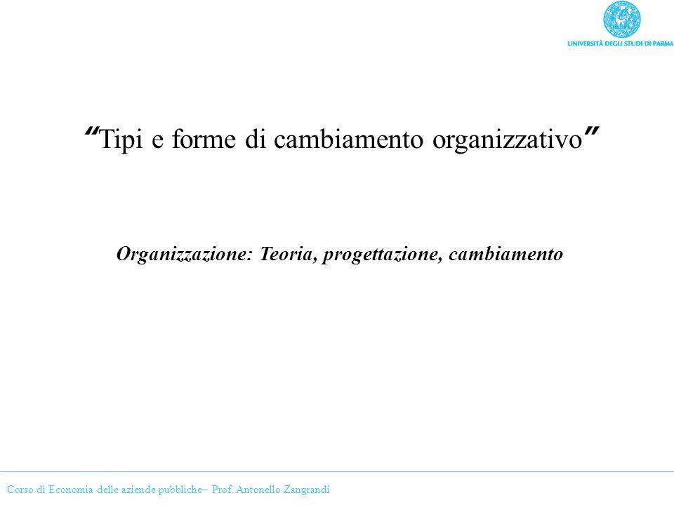 Organizzazione: Teoria, progettazione, cambiamento