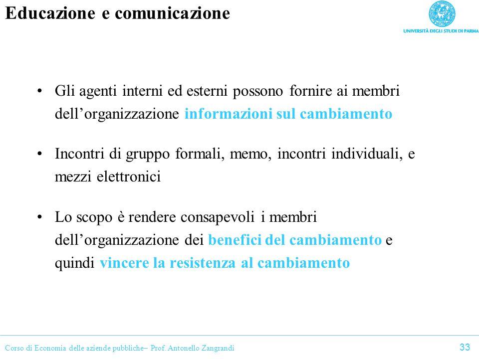 Educazione e comunicazione