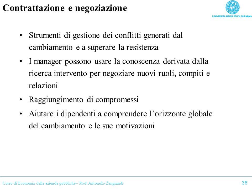 Contrattazione e negoziazione