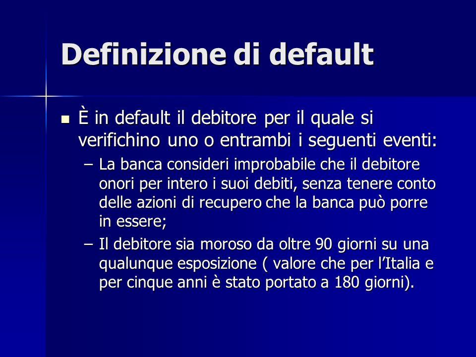 Definizione di default