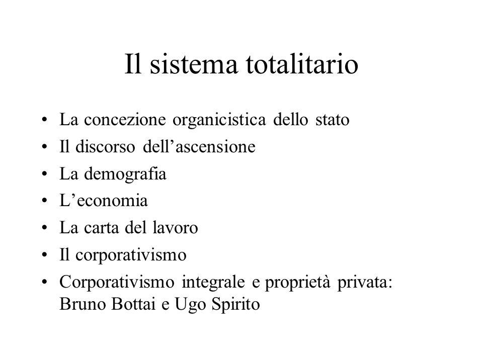 Il sistema totalitario
