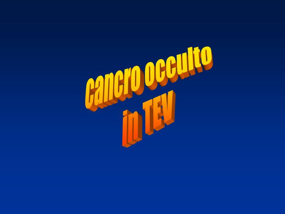 cancro occulto in TEV