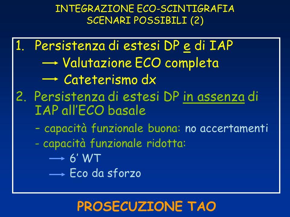 INTEGRAZIONE ECO-SCINTIGRAFIA SCENARI POSSIBILI (2)