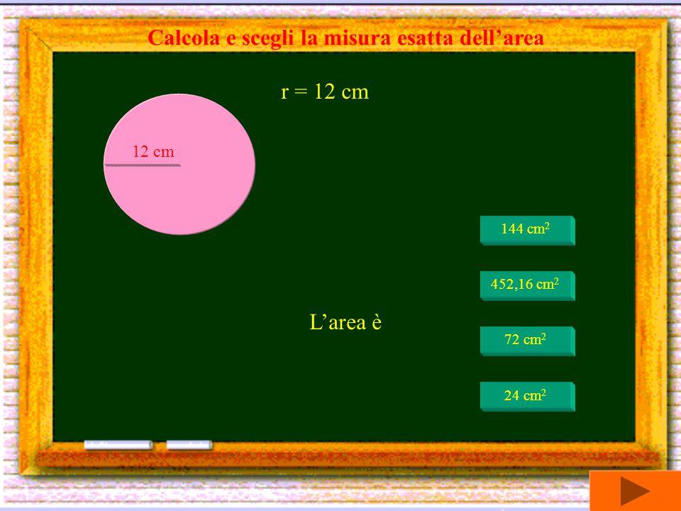 Calcola e scegli la misura esatta dell'area
