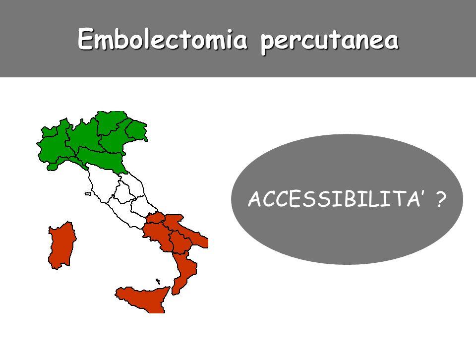 Embolectomia percutanea