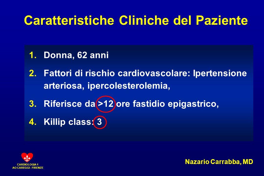 Caratteristiche Cliniche del Paziente