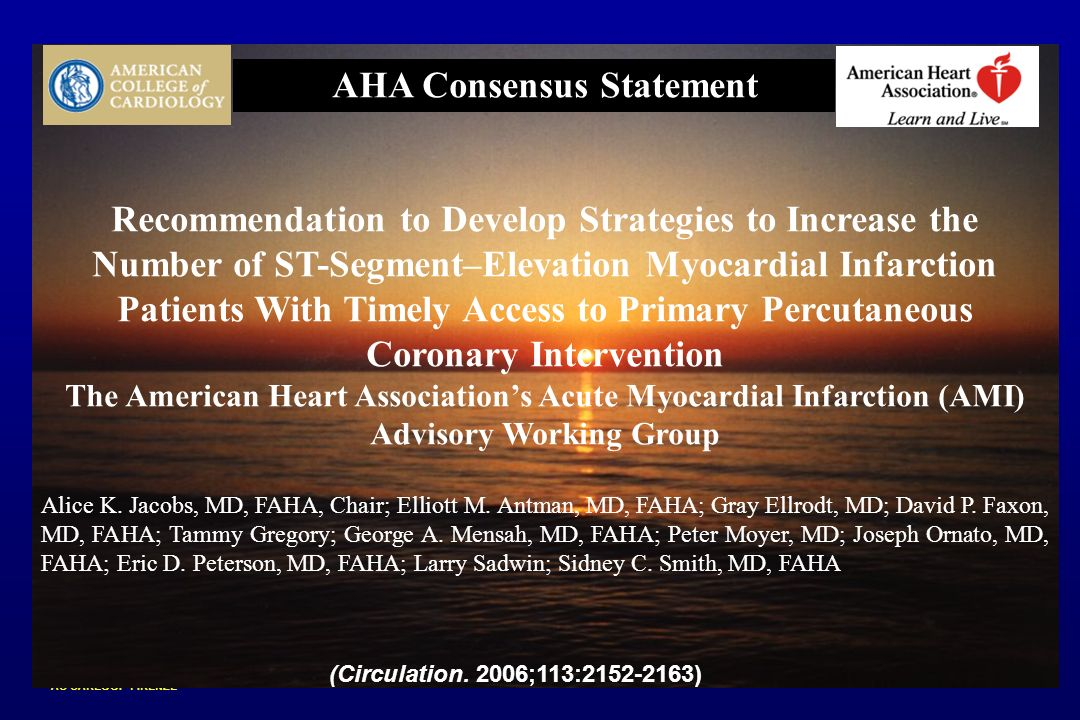 AHA Consensus Statement