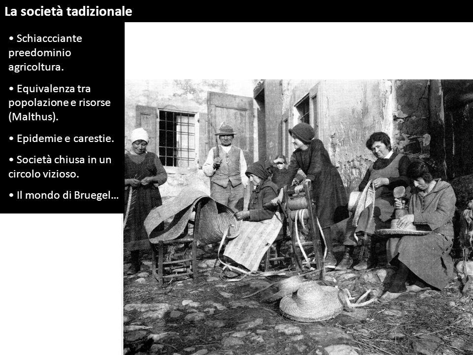 La società tadizionale
