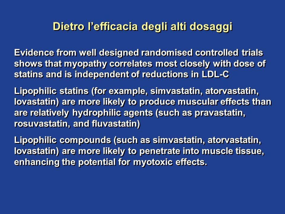 Dietro l'efficacia degli alti dosaggi