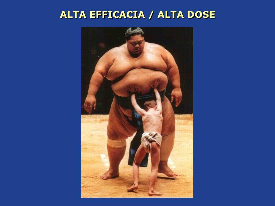 ALTA EFFICACIA / ALTA DOSE
