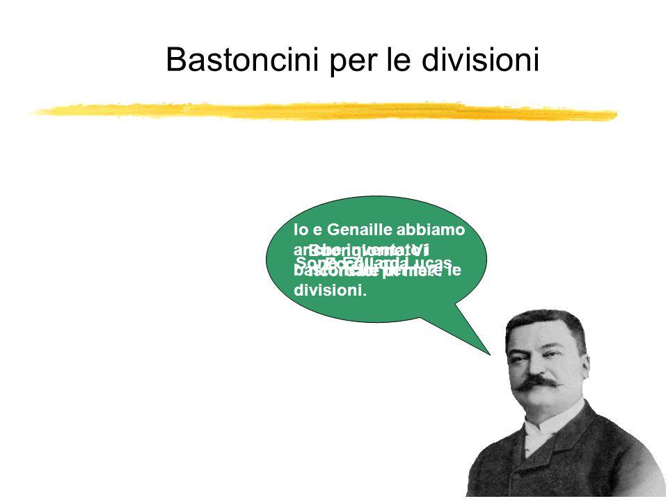 Bastoncini per le divisioni