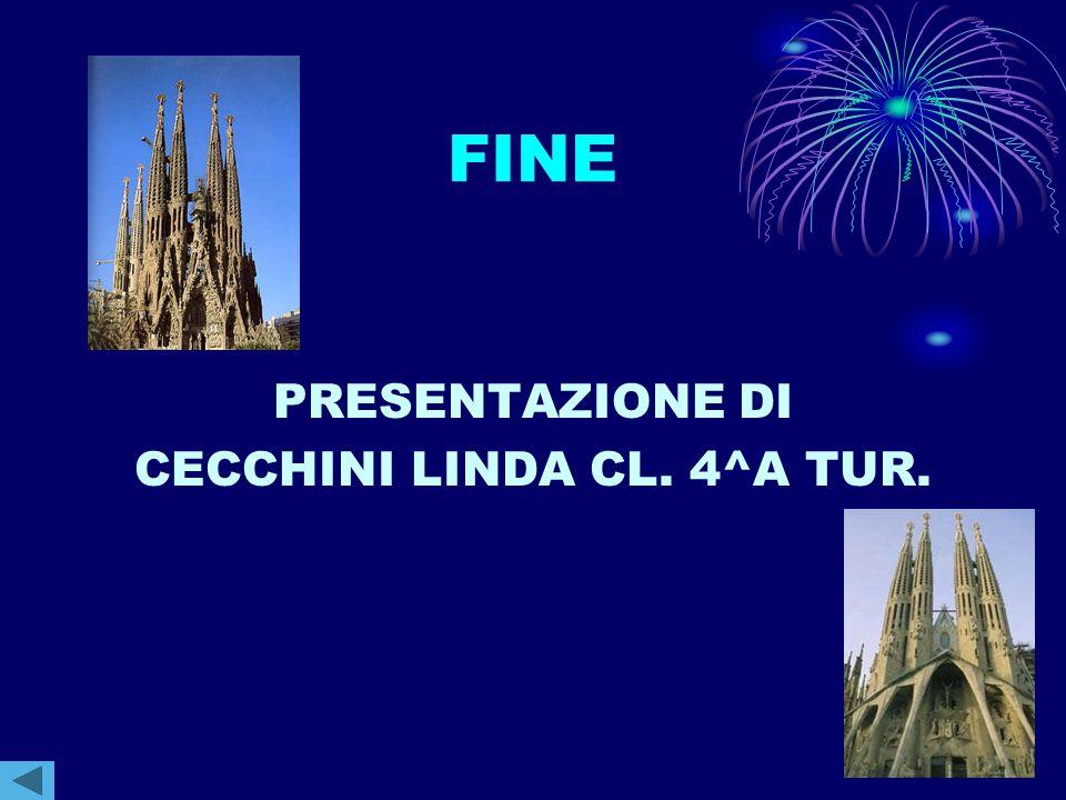 CECCHINI LINDA CL. 4^A TUR.