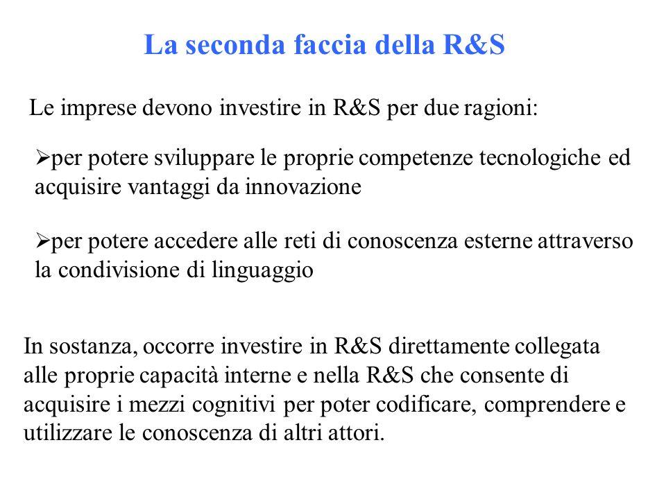 La seconda faccia della R&S