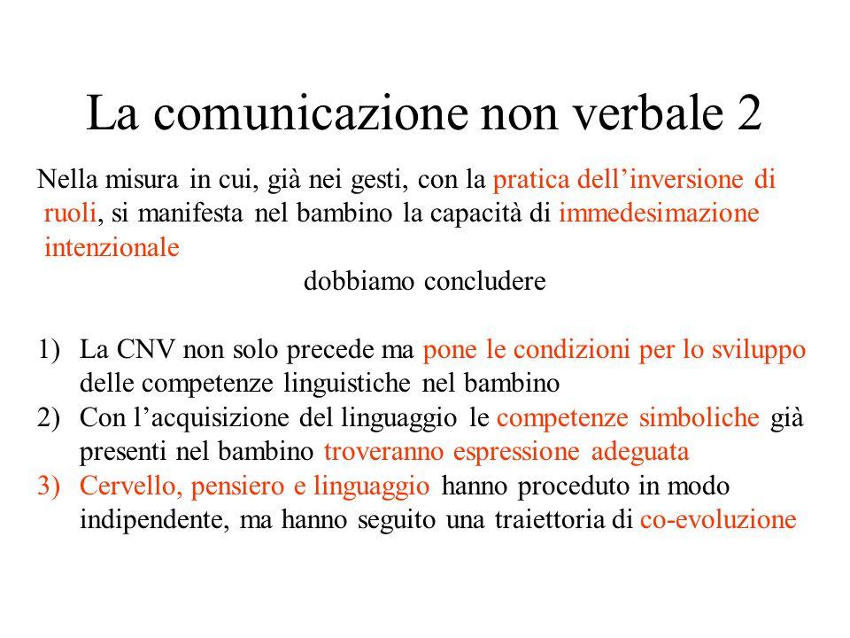 La comunicazione non verbale 2