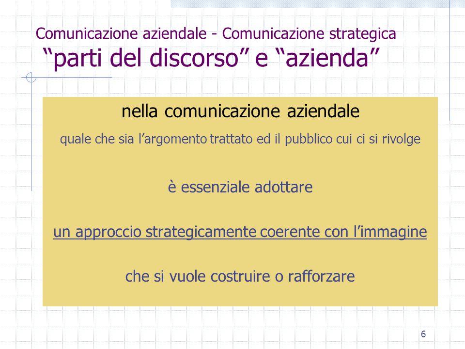 nella comunicazione aziendale