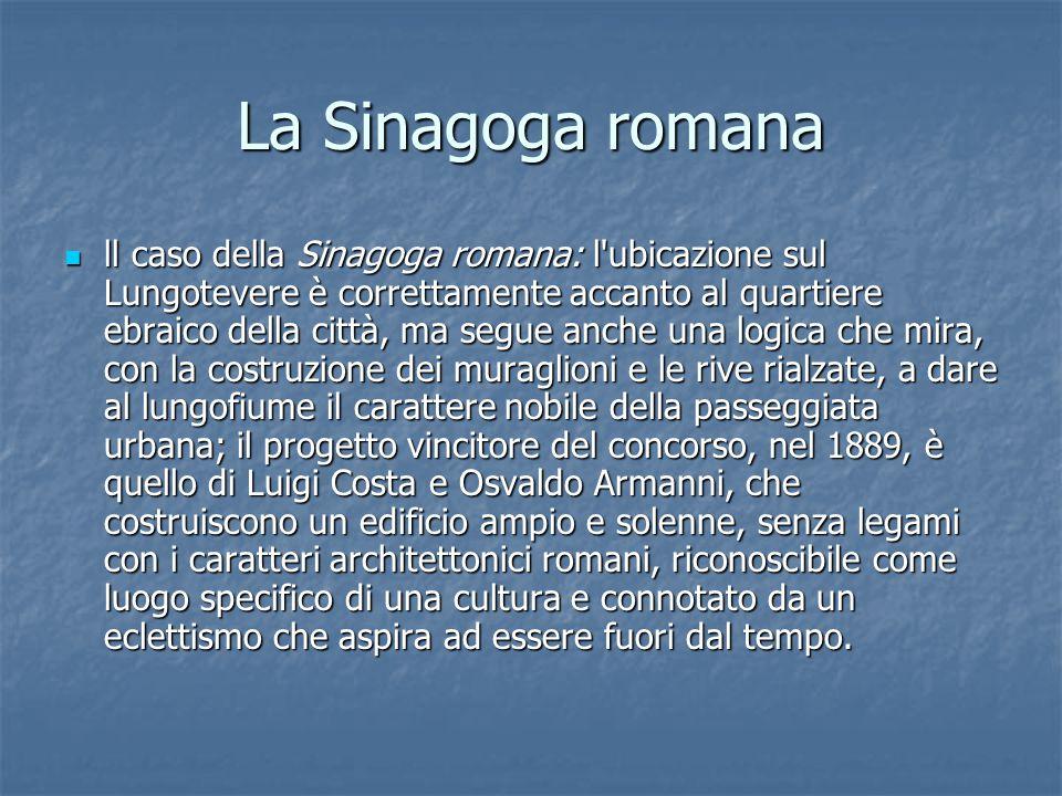 La Sinagoga romana