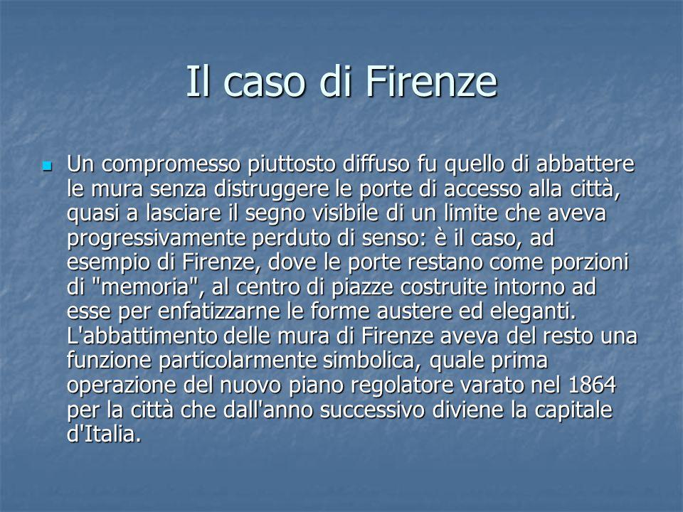 Il caso di Firenze