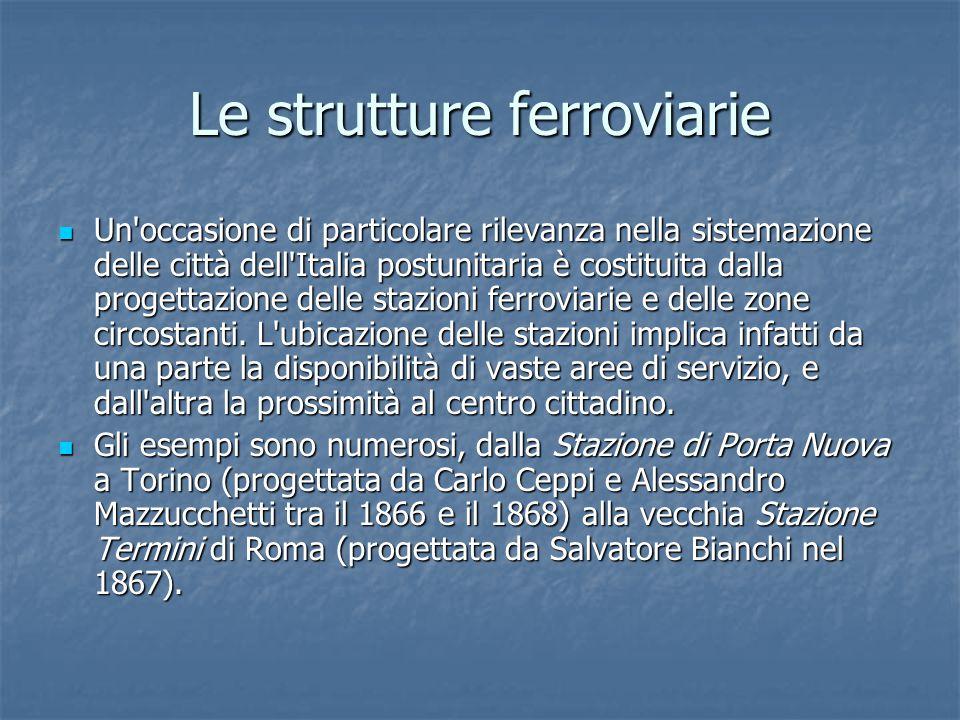 Le strutture ferroviarie
