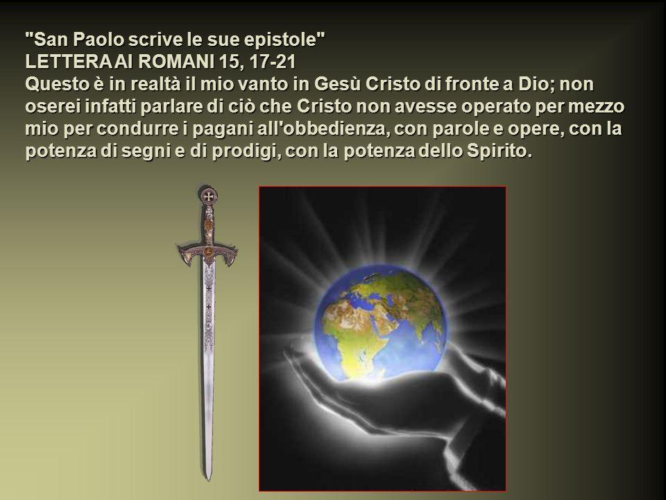 San Paolo scrive le sue epistole