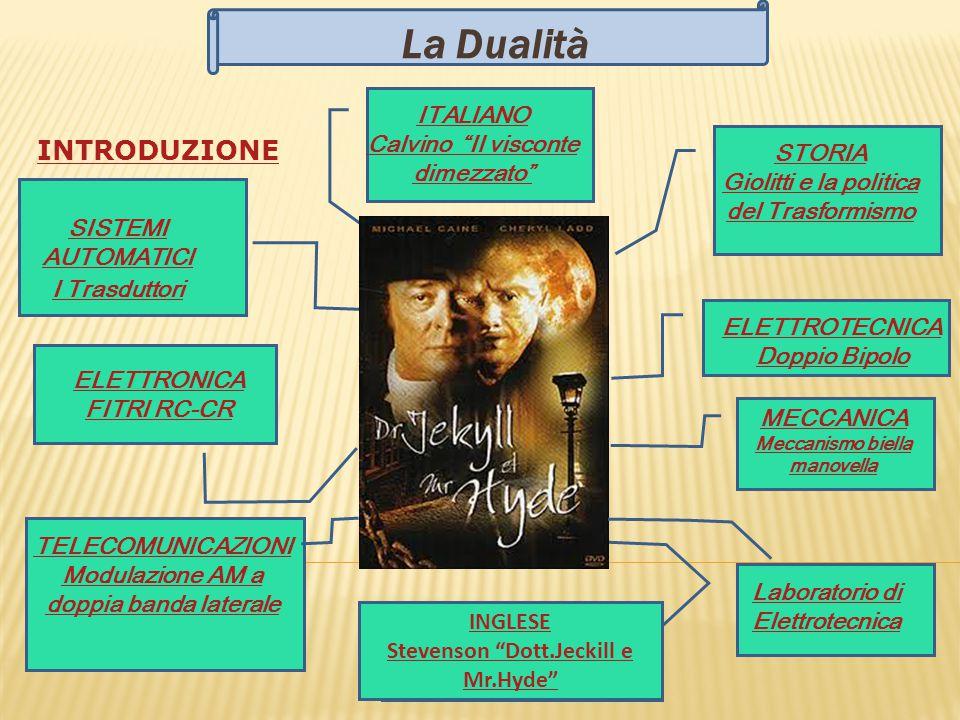 La Dualità INTRODUZIONE ITALIANO Calvino Il visconte dimezzato