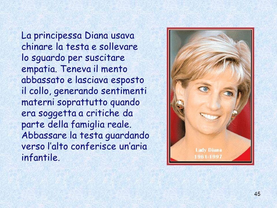 La principessa Diana usava