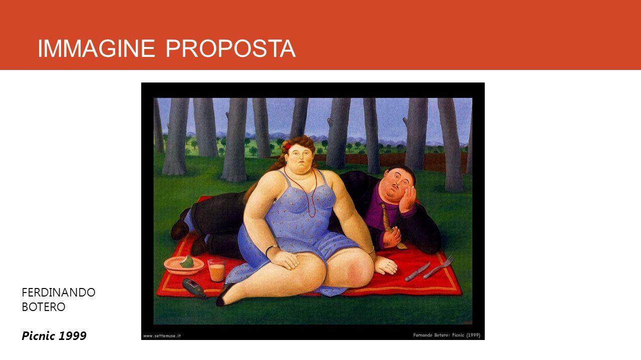 IMMAGINE PROPOSTA FERDINANDO BOTERO Picnic 1999
