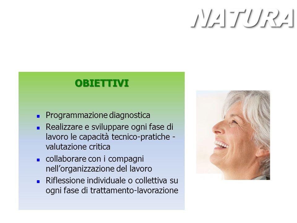 NATURA OBIETTIVI Programmazione diagnostica